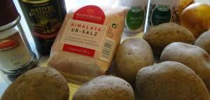 Bratkartoffeln-Zutaten
