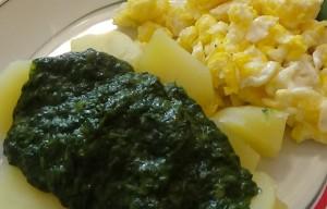 spinat-kartoffelschmaus